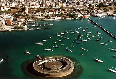 Forte de São Marcelo / Crédito: Bahiatursa