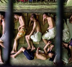 Crianças detidas em presídios
