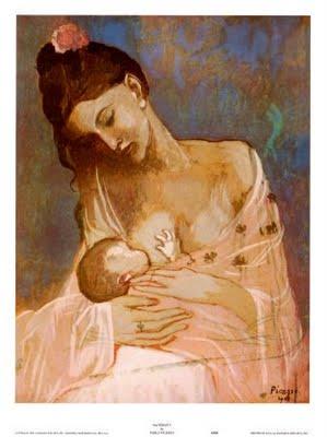 Amamentação, Pablo Picasso