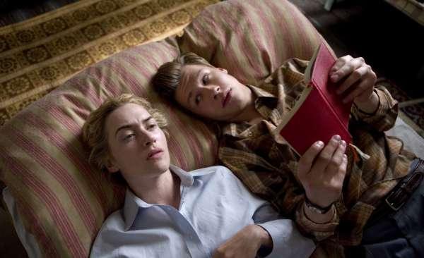 Cena do filme O Leitor, com Kate Winslet