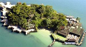 O local de trabalho, a Ilha do Breu