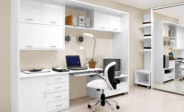Modelo de home-office / Crédito da foto: Site do Senado Federal