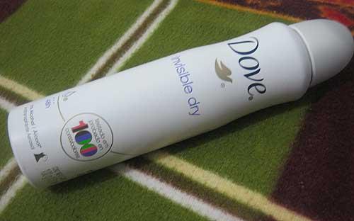 Dove Invisible Dry Aerosol | foto: conversa de menina