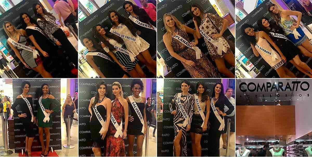Candidatas ao Miss Bahia 2015 | foto: conversa de menina