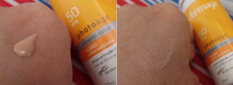 Protetor solar facial Photoage 50 FPS Dermage | foto: conversa de menina