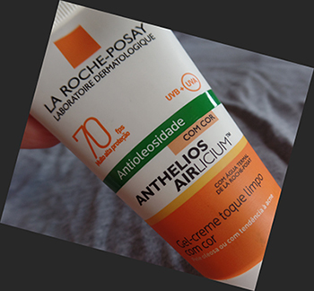 Anthelios Airlicium FPS 70 com cor da La Roche-Posay | foto: conversa de menina