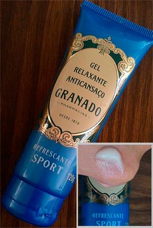 Gel Relaxante Anticansaço Granado