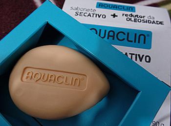 Aquaclin sabonete secativo redutor de oleosidade | foto: conversa de menina