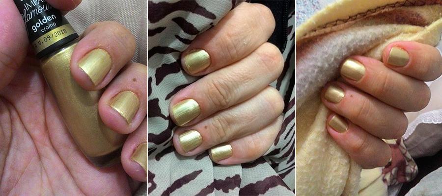 Nas Unhas: Golden (Impala) | foto: conversa de menina