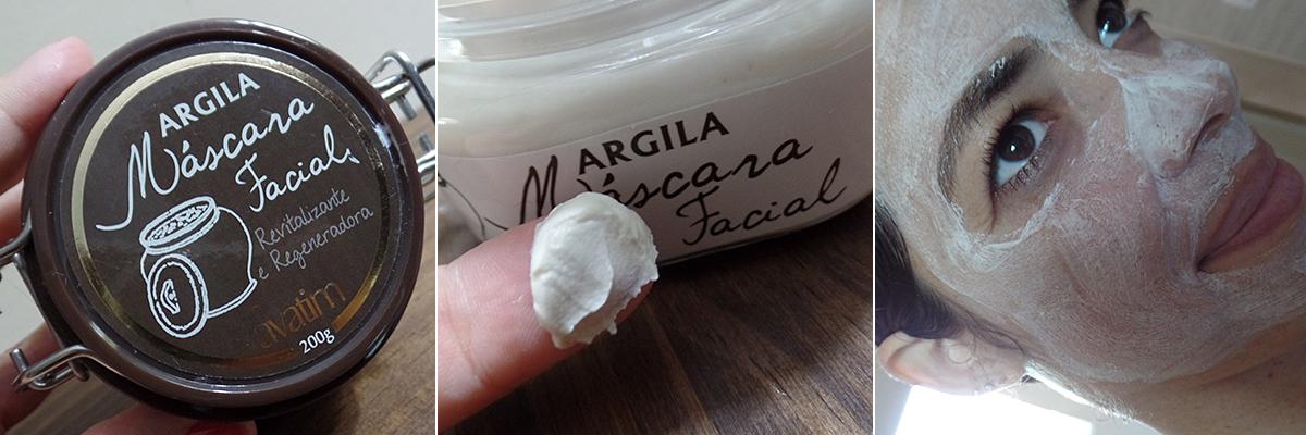 Argila Branca - Máscara Facial Avatim | foto: conversa de menina