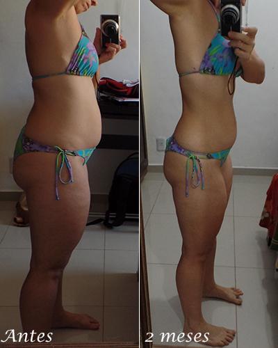 dieta resultado dois meses | foto: conversa de menina