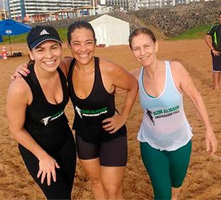 preparação física na praia | foto: conversa de menina